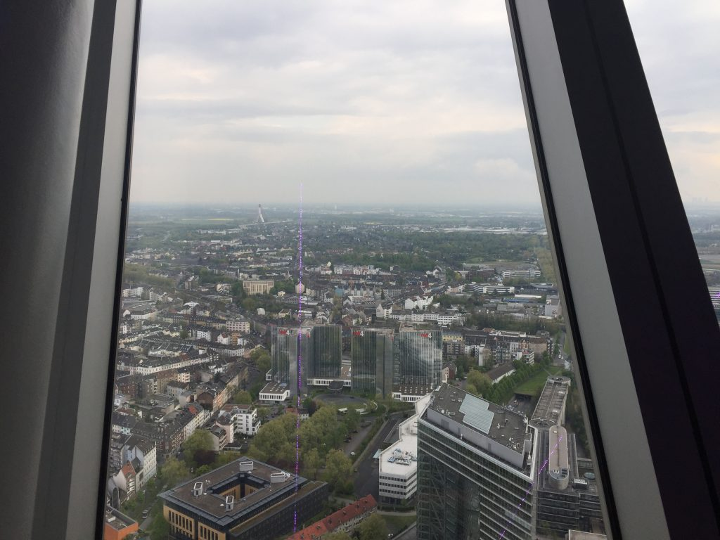 Blick Richtung Köln