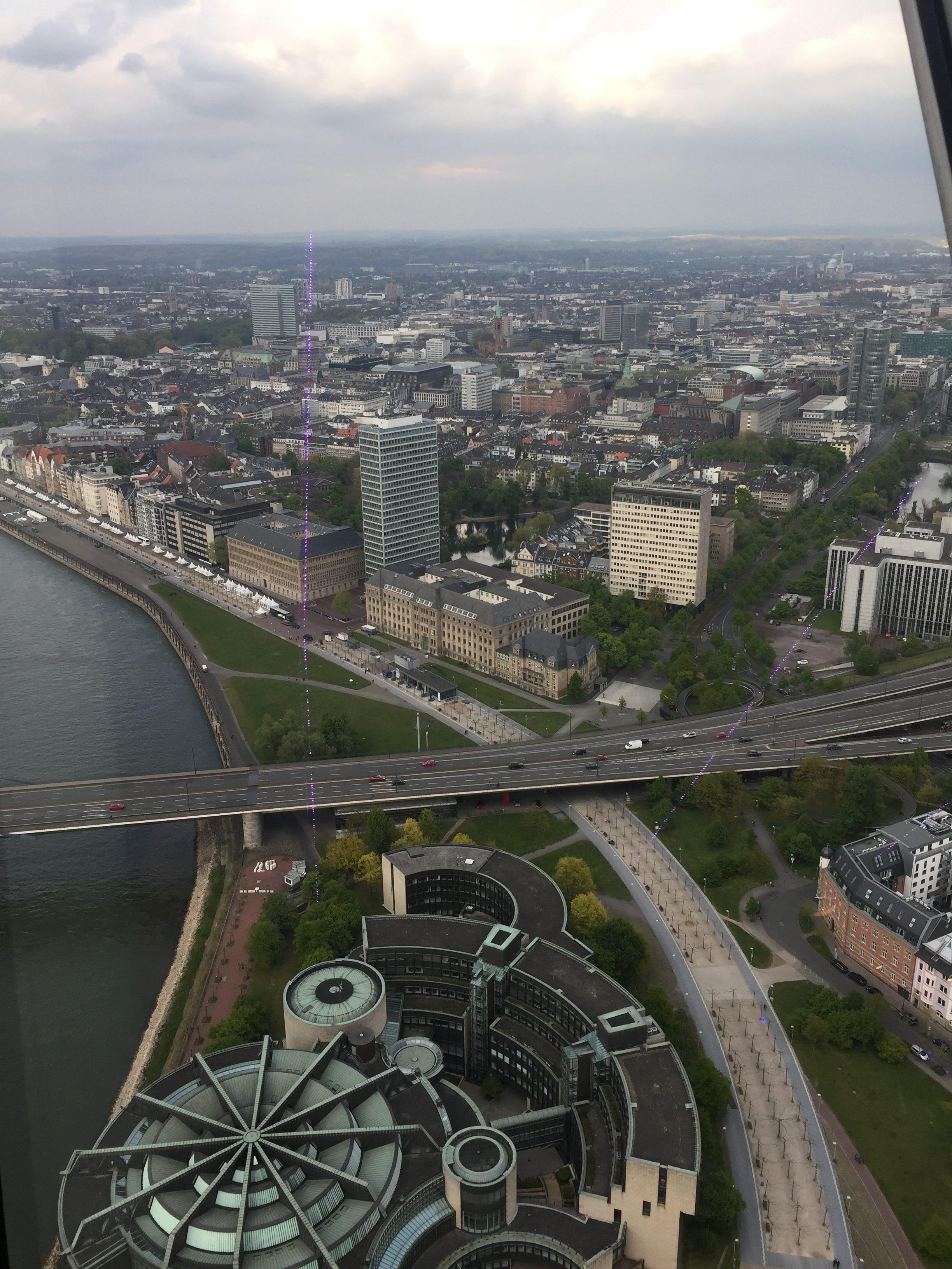 Blick Richtung Hauptbahnhof